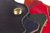 Detail of Mignon Calfskin Leather