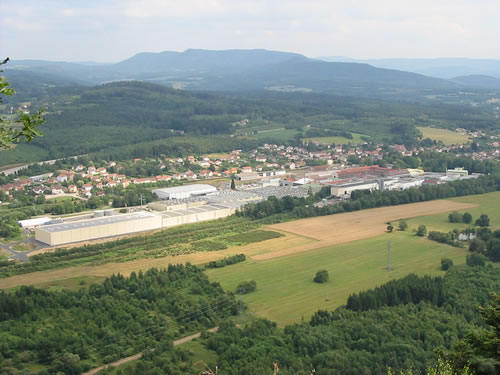 The Clairefontaine mill in the Vosges, France