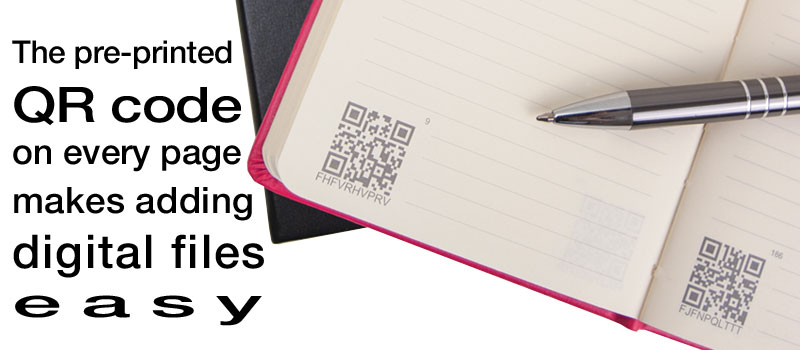 QR code on every page