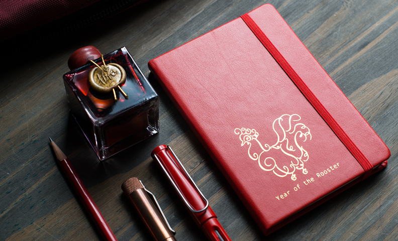 Year of the Rooster (2017) Limited Edition Quo Vadis Journals